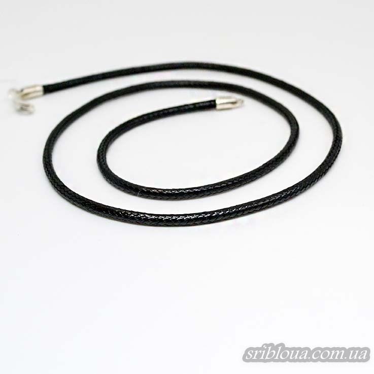 Шнурок -колье черный вощеный  (арт. 6010.2.3 вощ)