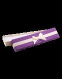 """Подарочная упаковка """"Фиолетовая с бантом"""""""