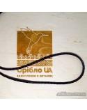 """Кожаный шнурок """"Черное и белое"""" (арт. 950037C)"""