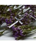 Серебряный крестик-подвес (арт. 3030