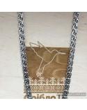 Серебряная мужская цепочка, плетение бисмарк (арт. 6002/37)