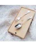 """Десертна срібна ложка """"BAROCCO"""" арт.2.95.0010"""