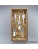 """Набір десертних срібних виробів """"Хвиля-mini"""" (арт.2.95.0110nab-mini)"""