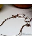 Срібні сережки-підвіси (арт. 420617)