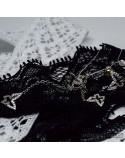 Срібні сережки-підвіси Метелики з фіанітами (арт. 420671)