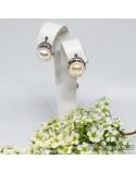 Срібні сережки з перлинами (арт. 20014)