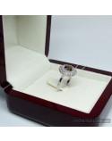 Срібне кільце, вставка кварц (арт. 10324кварц)